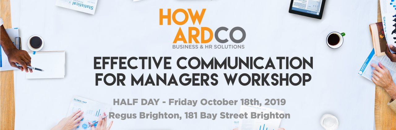 Effective Communication for Managers Workshop