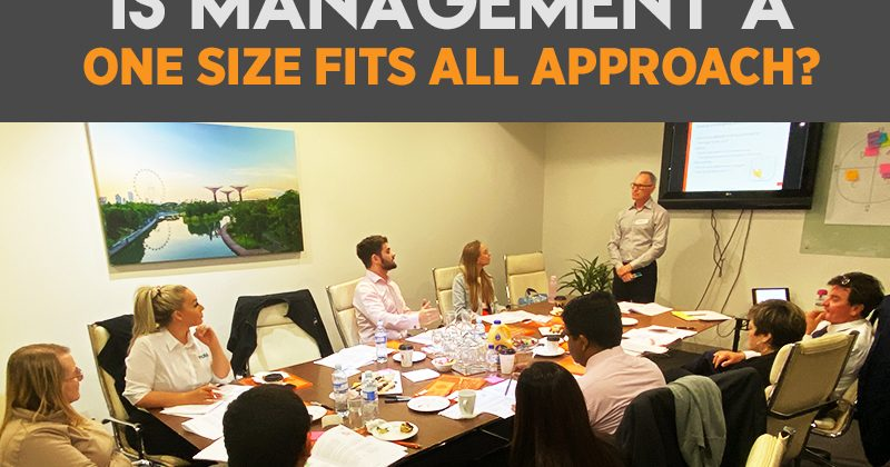 Is management a one size fits all approach?