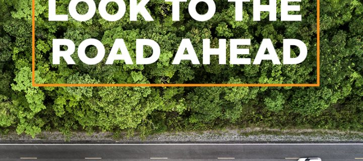Look to the road ahead